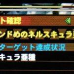 【MH4G】ハンマー攻略プレイ記 VSネルスキュラ亜種 集G★2編その3