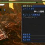 MHP3 イベントクエスト#48「神への挑戦」をクリア