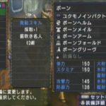 MHP3 ハンマー向き防具紹介#1 ボーンシリーズ(KO術+α)