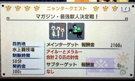 マガジン・最強獣人決定戦!