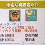 【MH4G】イベントクエスト「小さな挑戦者たち」の攻略プレイ記&データ