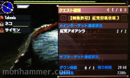 【特殊許可】紅兜狩猟依頼3