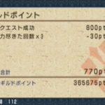 MHP3 チャレンジクエスト「モンハンフェスタ01」をクリア
