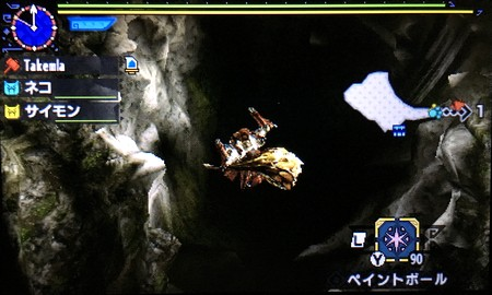 竜ノ墓場の穴