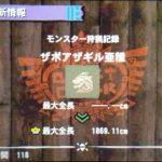 【MH4G】ハンマー攻略プレイ記 ザボアザギル亜種とパファースマッシュ 集G★1編その4
