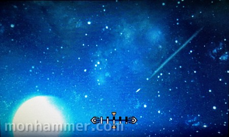 古代林の星空