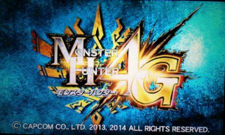 MH4G タイトル