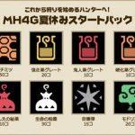 【MH4G】今日(7/30)から期間限定で消耗アイテムが大量にもらえる無料DLCと無料カスタムテーマが配信開始!