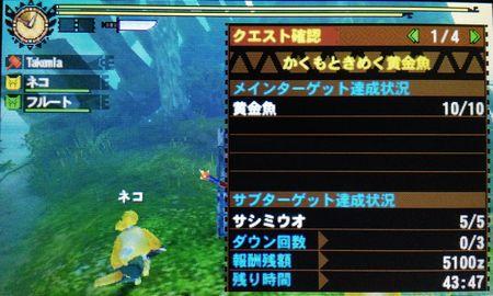 かくもときめく黄金魚 クリア