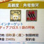 【MH4G】ハンマー攻略プレイ記 VS極限状態ディアブロス 集G★3番外編