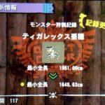 【MH4】ハンマー攻略プレイ日記 集会所クエスト★6編その2 VSティガレックス亜種